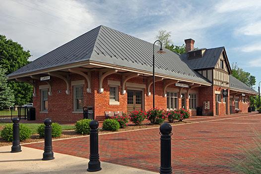 Luray Train Station Exterior 2