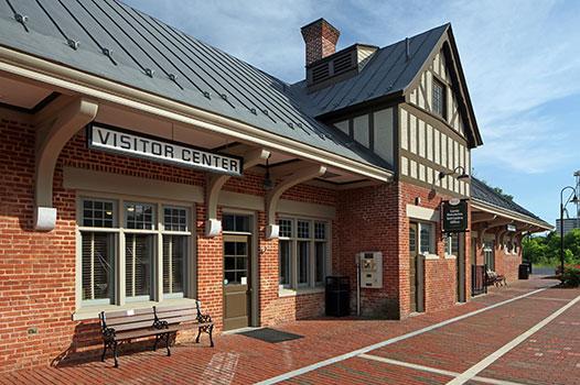 Luray Train Station Exterior 3