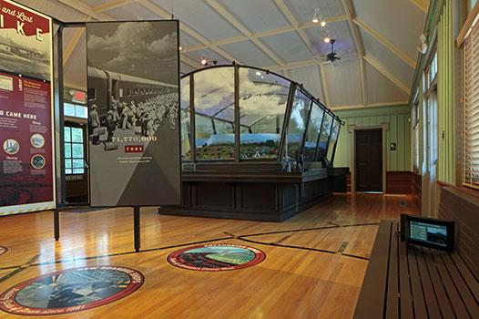 Luray Train Station Museum